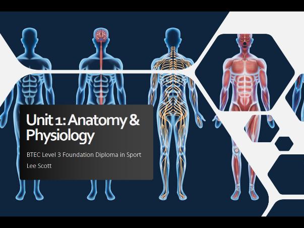 Unit 1 - Anatomy & physiology
