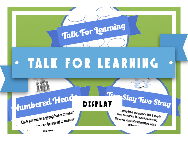 Talk for Learning - T4L - Display