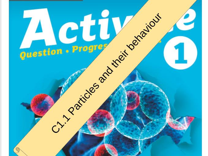 KS3 Activate 1 Bundle: C1 Particles and their behaviour