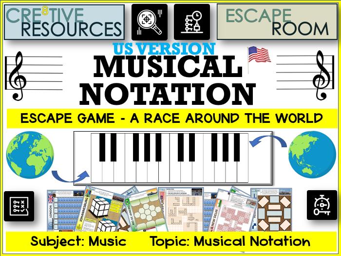 Music Escape Room - US Version