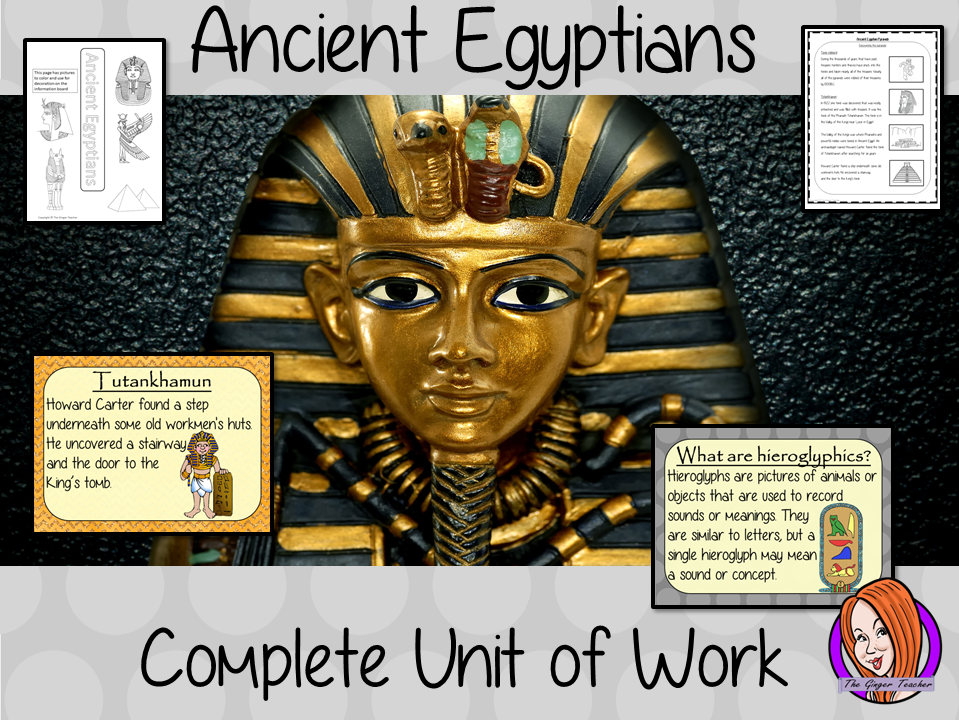 Ancient Egyptian Complete Unit Lesson Bundle