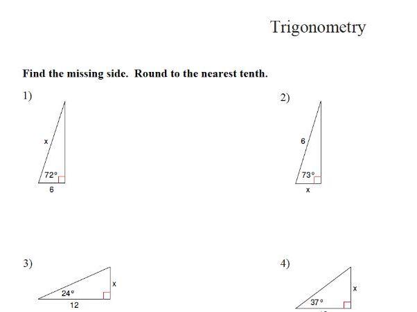 GCSE Maths Revision: Trigonometry