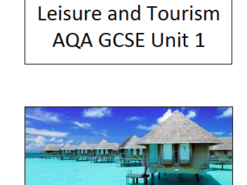 Visitor Attractions Pack Leisure and Tourism AQA GCSE