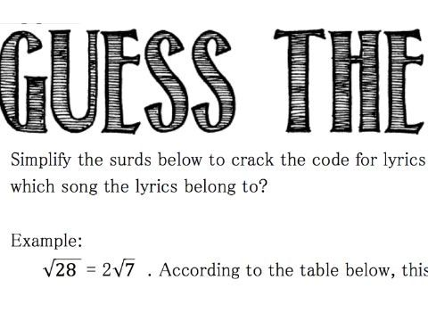 SURDS_ Guess the Song