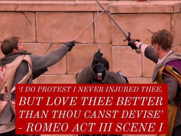 Conflict in Romeo and Juliet