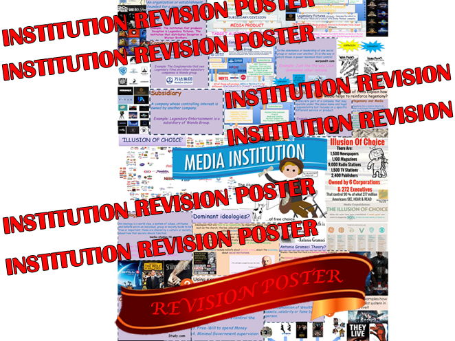 AWESOME MEDIA FILM INSTITUTION REVISION POSTER