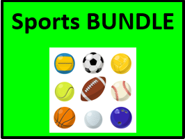 Sportarten (Sports in German) Bundle
