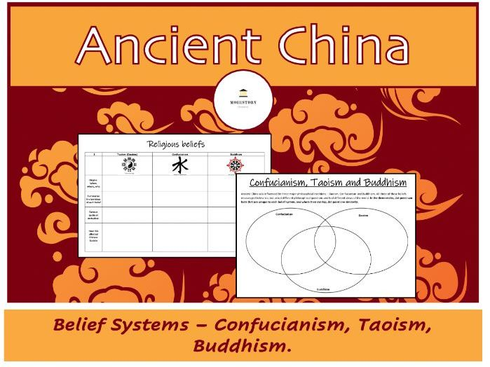 Ancient China - Belief system research task