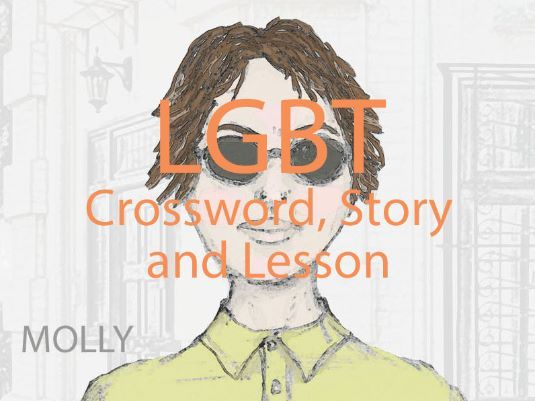 LGBT Crossword Puzzle, Story and Lesson (PSHE)