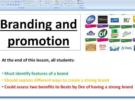Branding - Edexcel A Level Business Theme 1