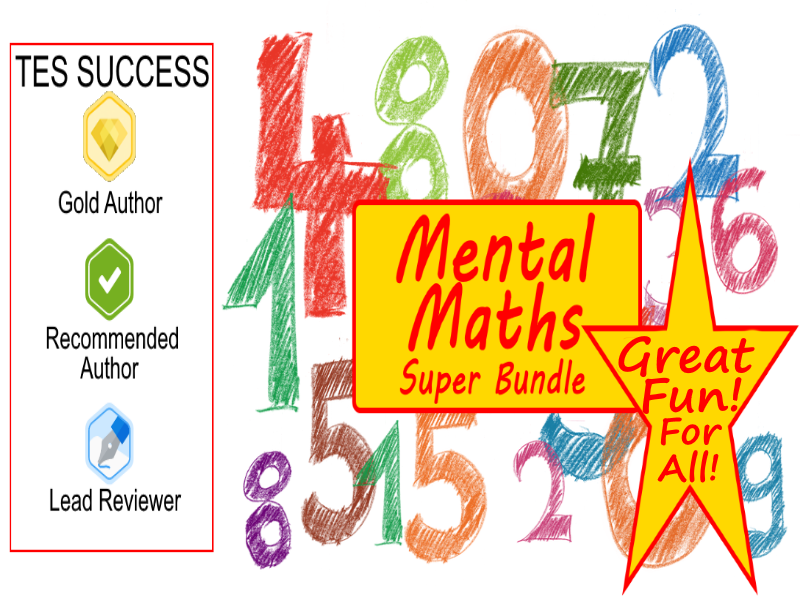 Mental Maths Bundle