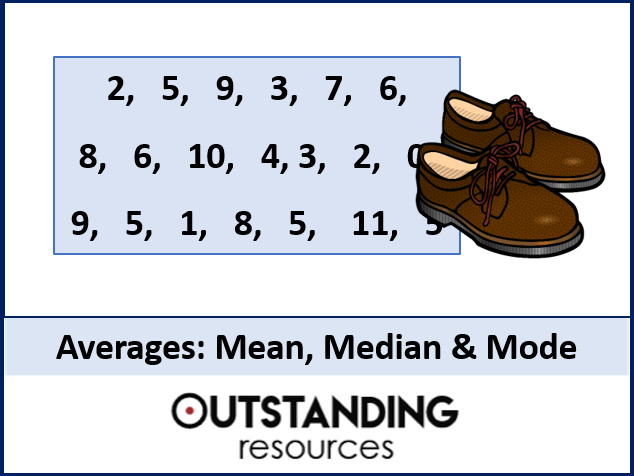 Averages 1 - Finding the Mean, Median and Mode