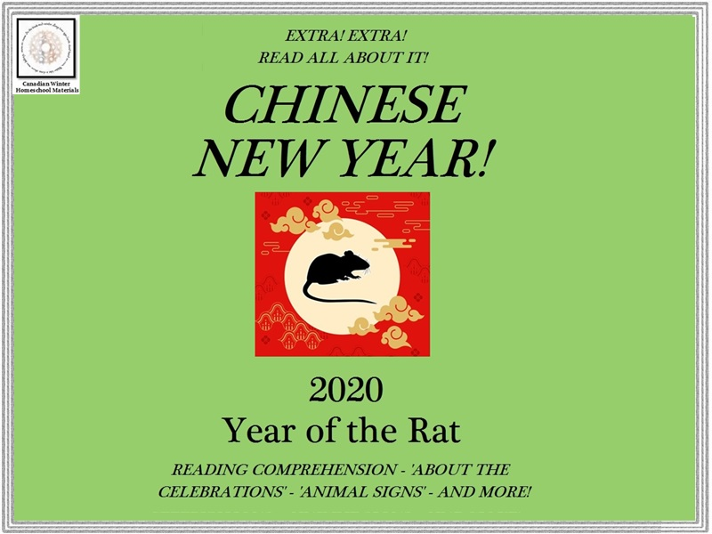 Chinese New Year Reading Comprehension - EXTRA! EXTRA! READ ALL ABOUT IT!