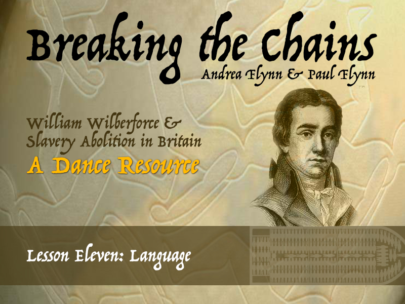 Breaking the Chains - Lesson Eleven - Language