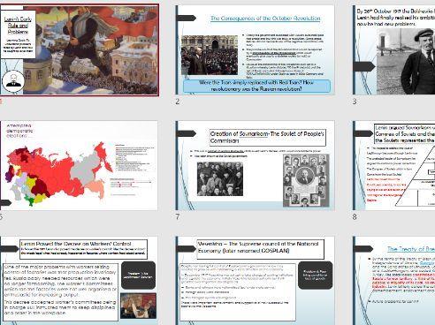 Lenin's Problems
