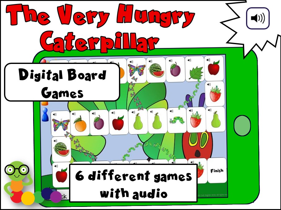 The Very Hungry Caterpillar Digital Board Games