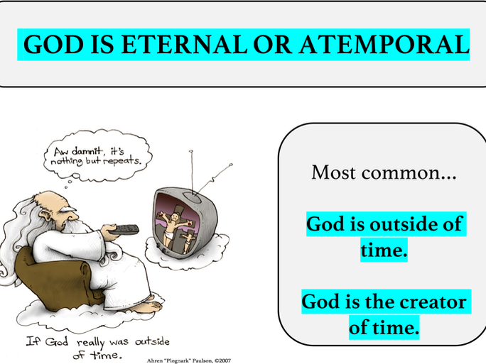 God's relationship with time.