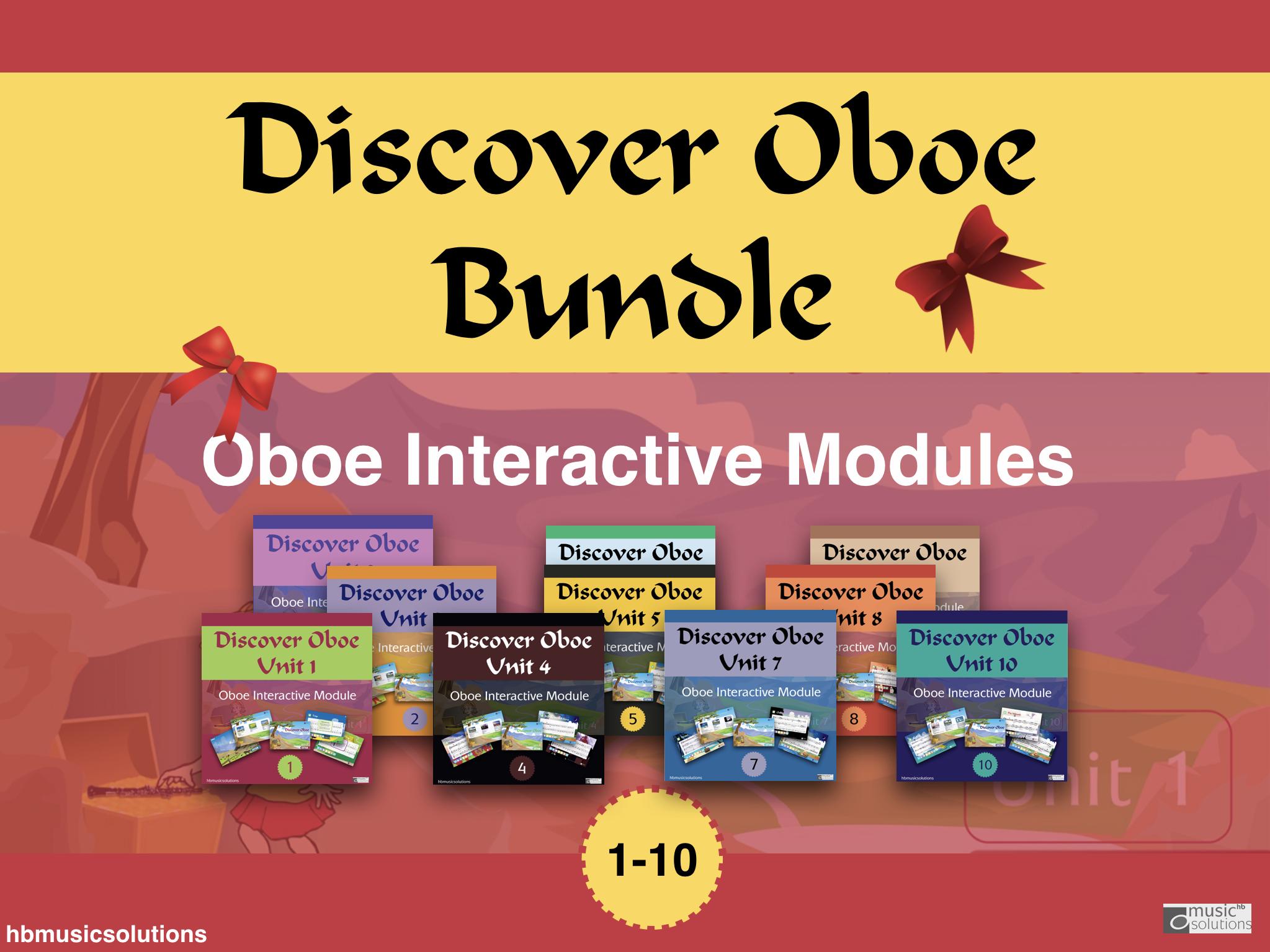 Discover Oboe Bundle Units 1-10