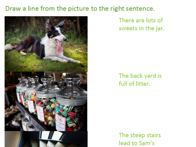 Basic grammar worksheets for early stage learners of EAL with pictures