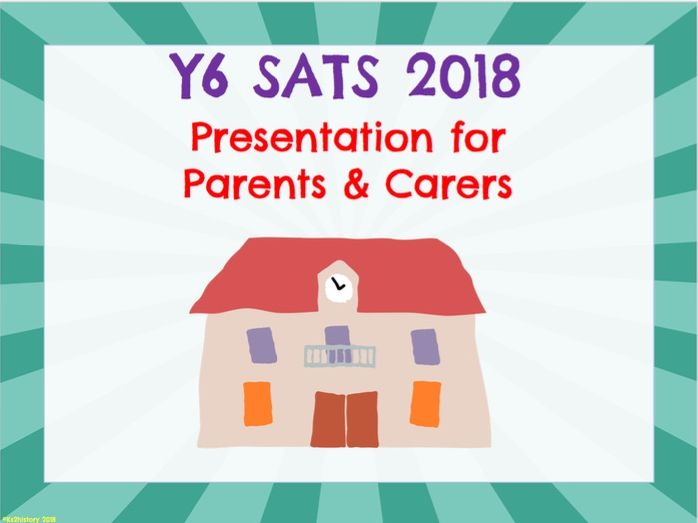 SATS Presentation for Parents (Y6)