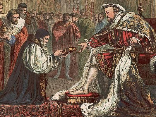 12. The execution of Mary, Queen of Scots