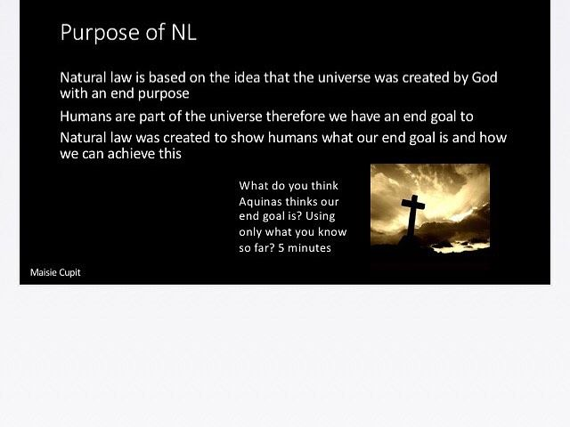Natural Law powerpoint