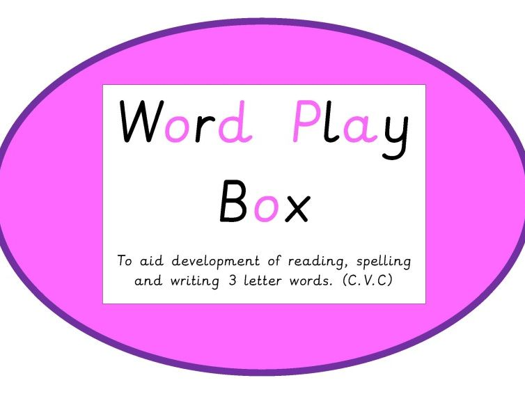Word Play Box