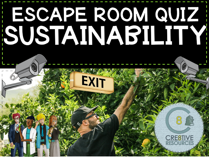 Sustainability - Geography Escape Quiz