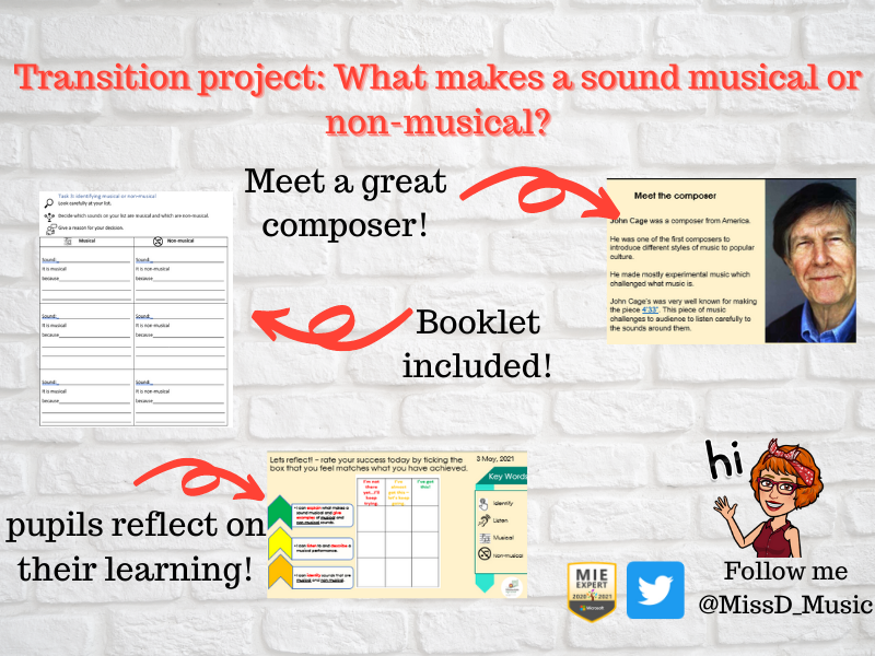 transition project - musical and non musical sounds