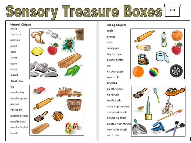 Sensory Treasure Boxes for SEN and EYFS Learners