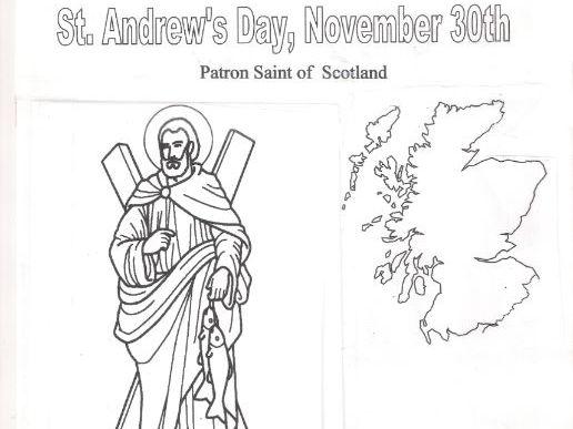 St. Andrew's Day, November 30th