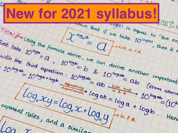 IB Maths AA SL - Topic 1 Algebra Notes by jwmcrobert