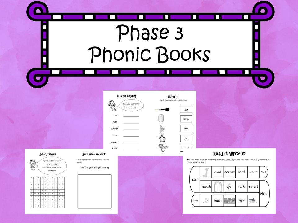 Phase 3 Phonic Books