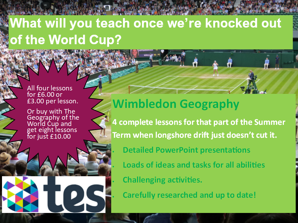 The Geography of Wimbledon
