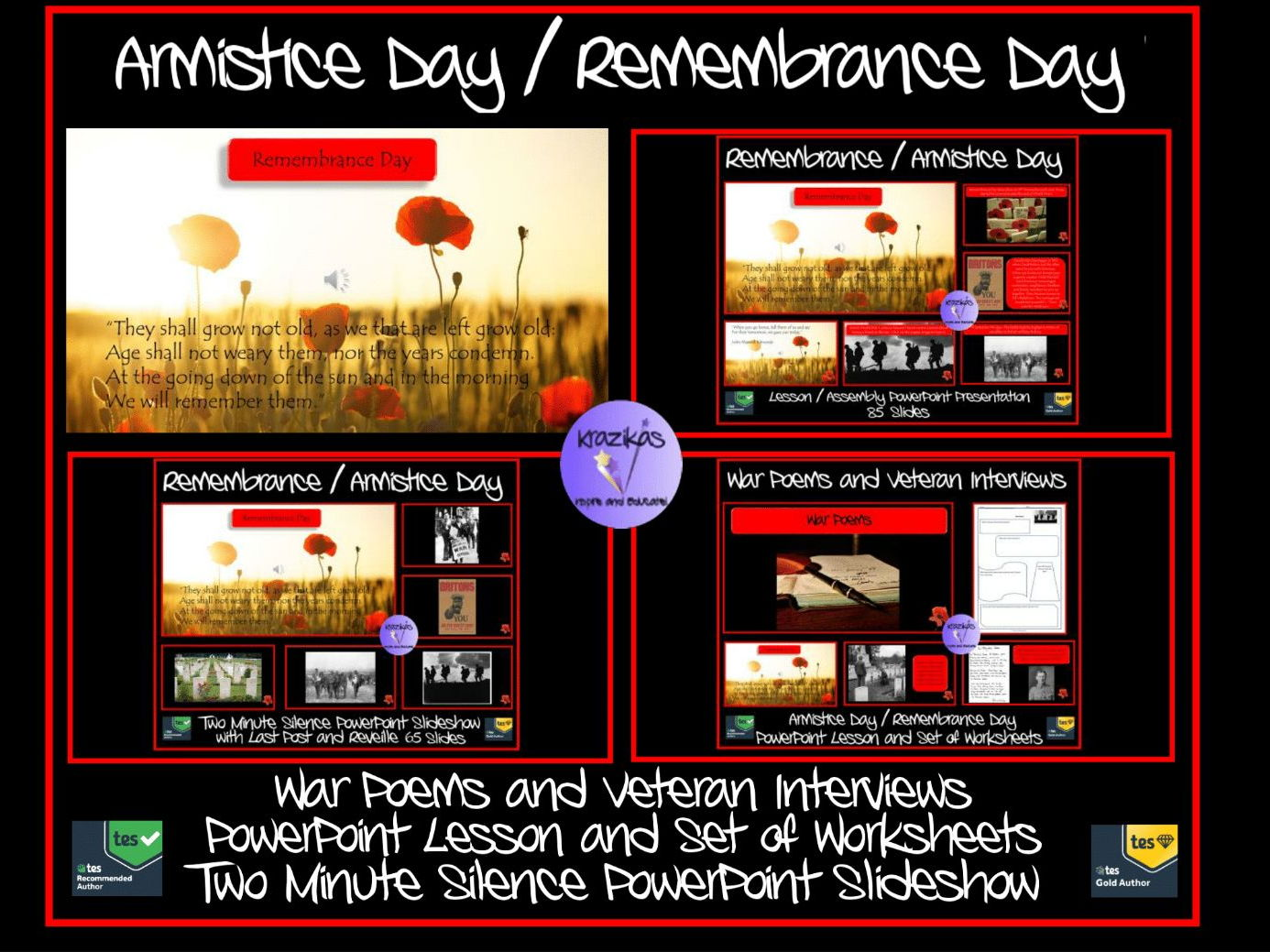 Remembrance Day Remembrance Day Presentation Worksheets And Two