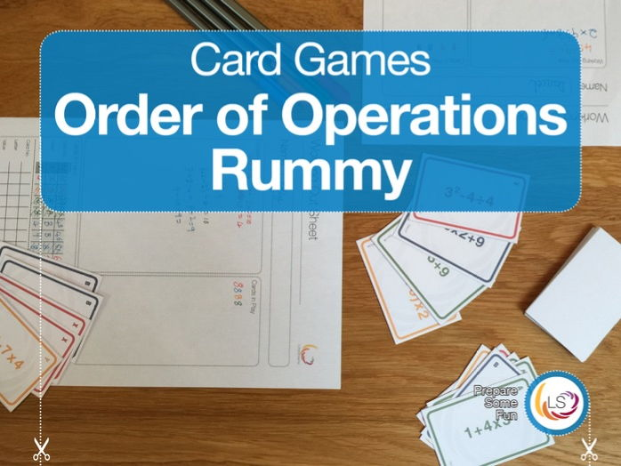 Order of Operations Rummy