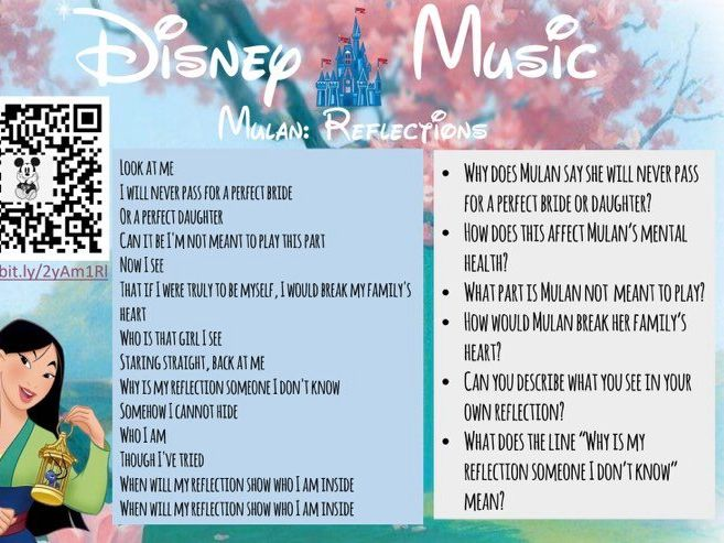 Disney Music Comprehension