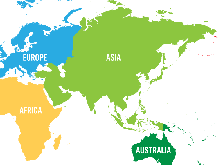 Map Of Asia Ks1.All About Asia Quiz Ks1