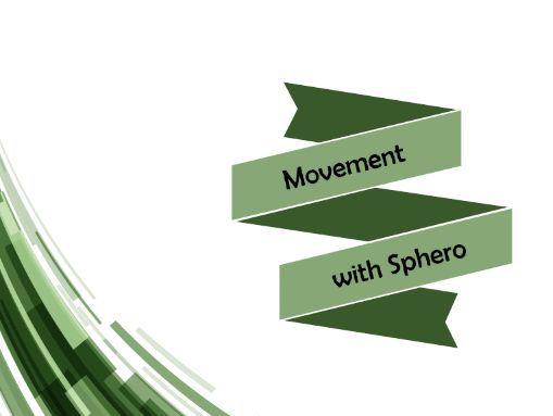 Movement with Sphero