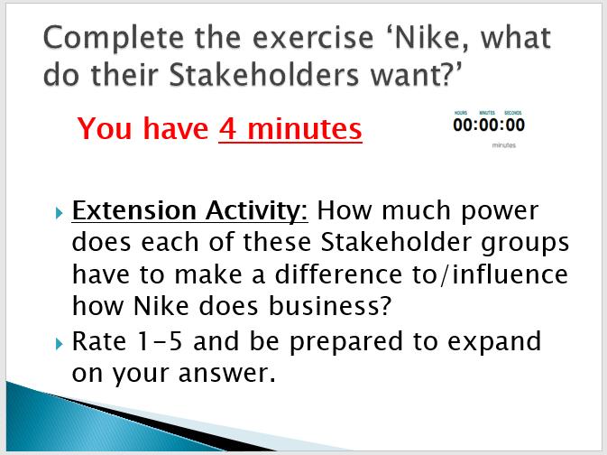 BUSINESS: Stakeholders (FULL LESSON, ACTIVITIES, ASSESSMENT, DIRT SHEET)