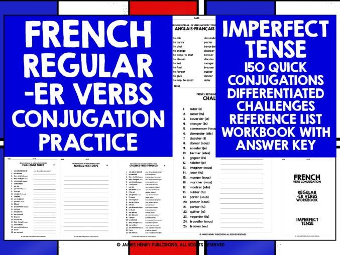 FRENCH ER VERBS CONJUGATION #3