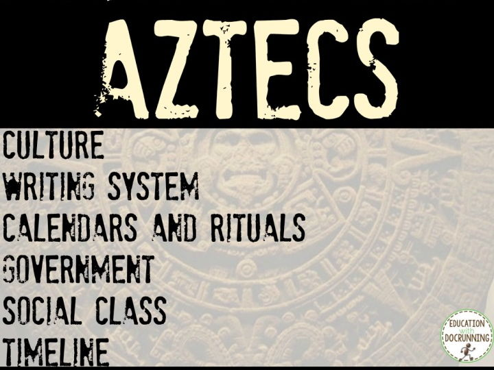 The Aztecs Bundle 10 Activities for MesoAmerica Unit