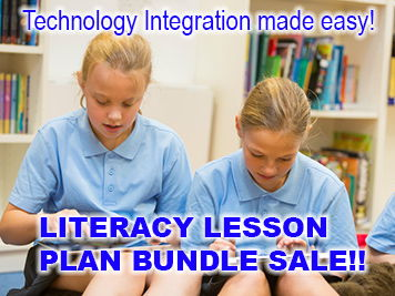 Literacy - Technology Lesson Plans Bundle