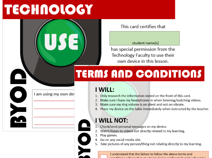 BOYD Terms and Conditions CARD