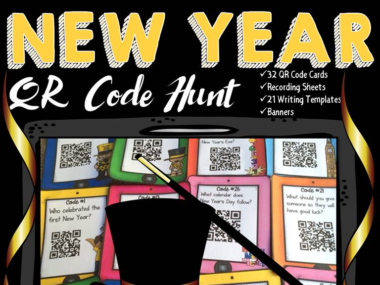 New Year's Day QR Code Hunt