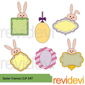 Easter frames clip art by revidevi - Teaching Resources - Tes