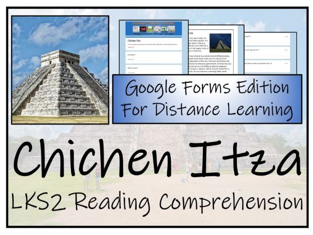 LKS2 Chichen Itza Reading Comprehension & Distance Learning Activity