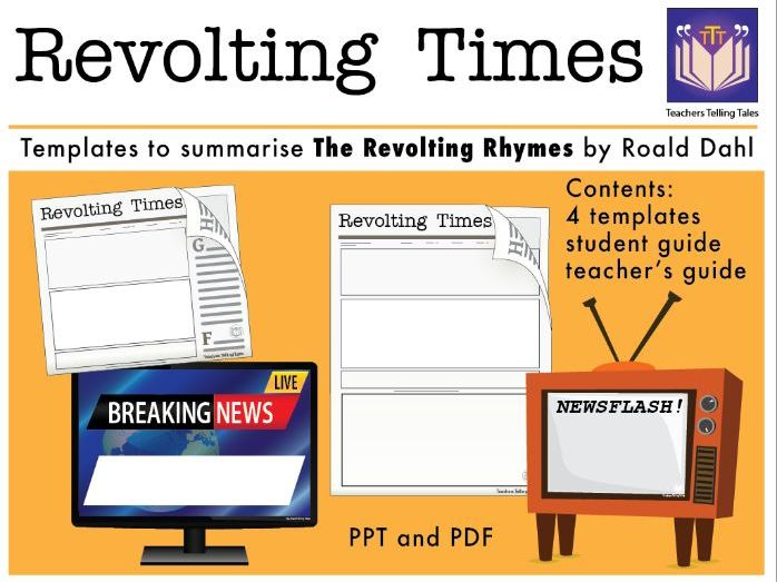 Revolting Times, news templates