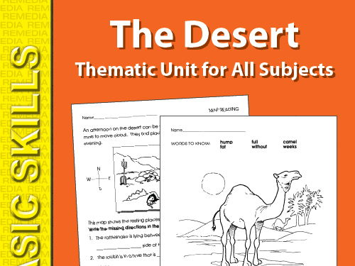 Desert: Thematic Skill-Builder Unit for All Subjects