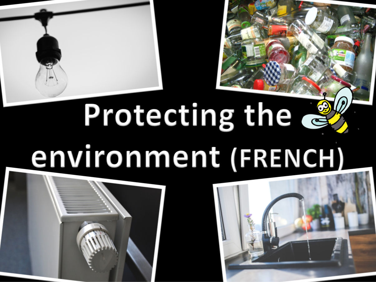 French Protecting the Environment Bundle